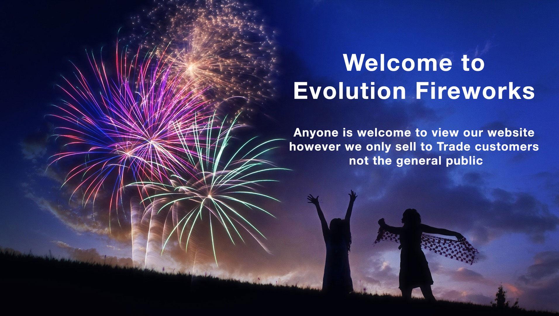 Evolution Fireworks Ltd | Professional & Retail Fireworks UK