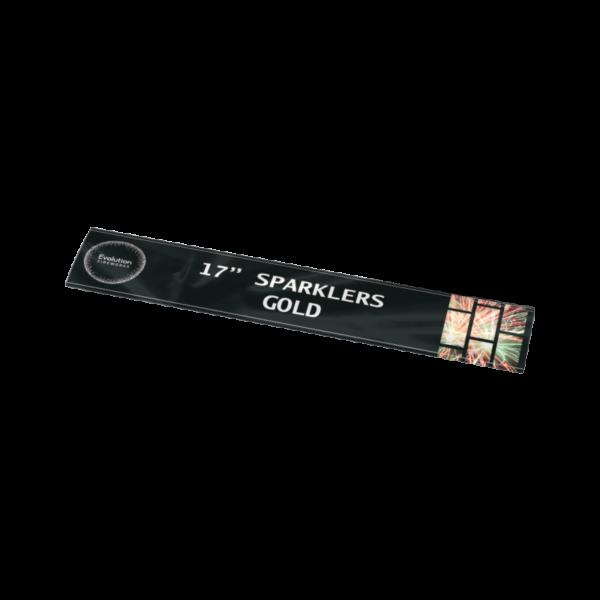 17 Gold Sparklers